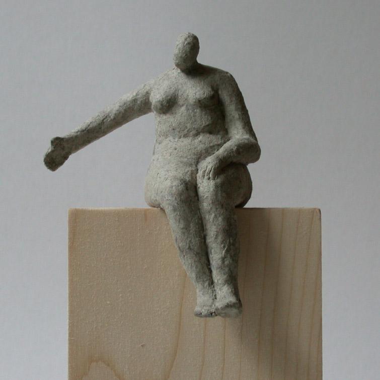 Sitzende, Atelier Jaskolski